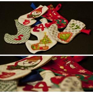 Recordeu el calendari d'advent??? Doncs aquí veieu alguna de les seves botetes amb més detall!