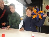 La Cèlia i el seu germà molt creatius!