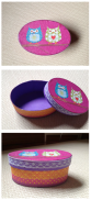 Una divertida capseta feta amb tovallo i puntilles