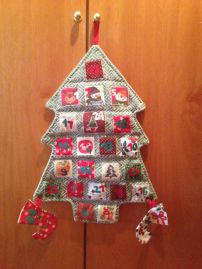 Calendari advent arbre
