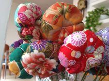 Flors decoratives de tela