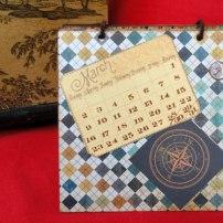 Calendari scrap home