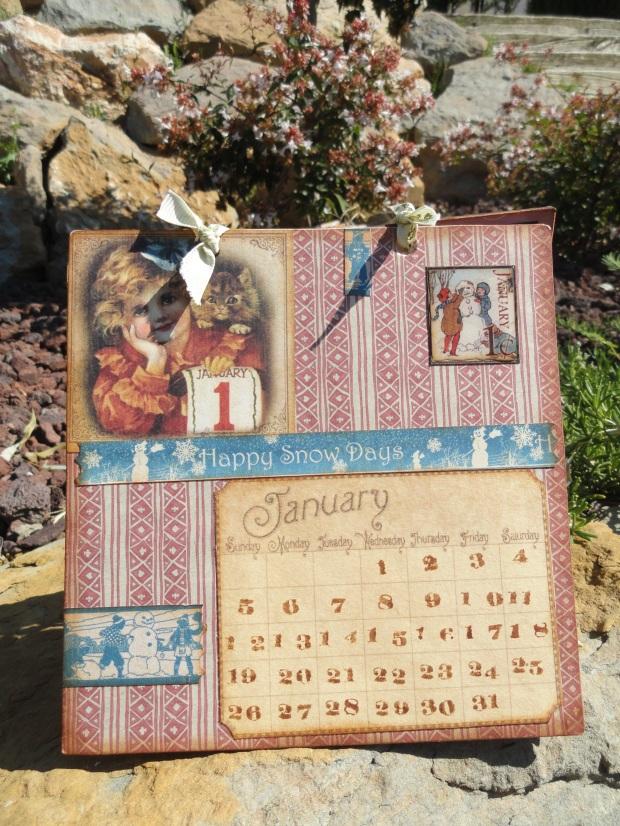 Calendari Scrapbooking