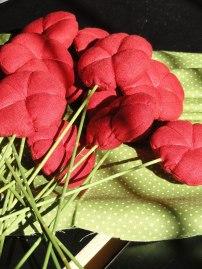 Flors vermelles