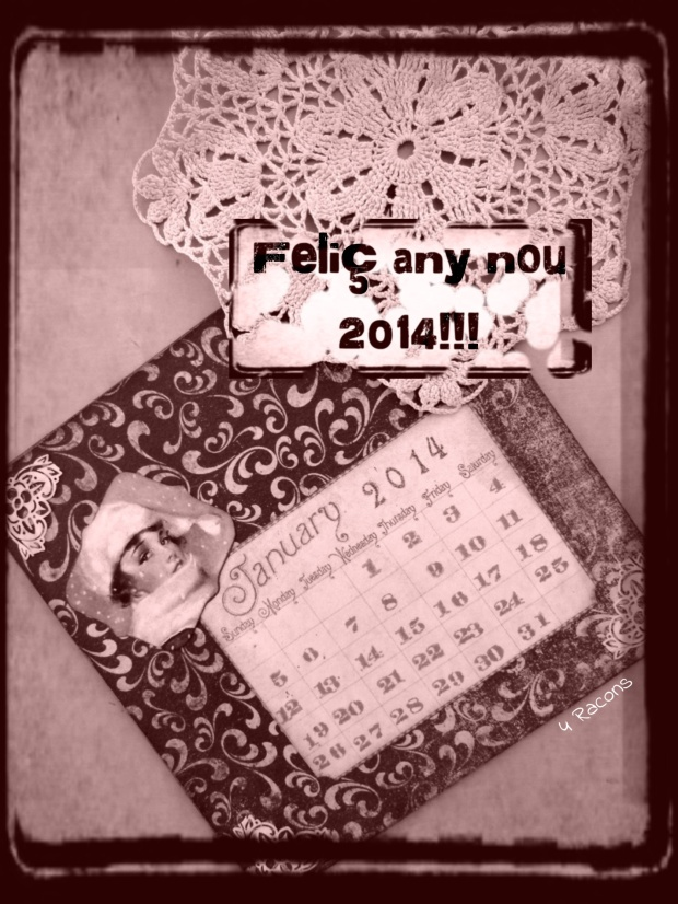 4 Racons us desitja Feliç any nou 2014!!!