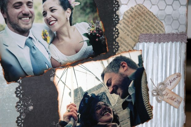 Scrapbooking casament