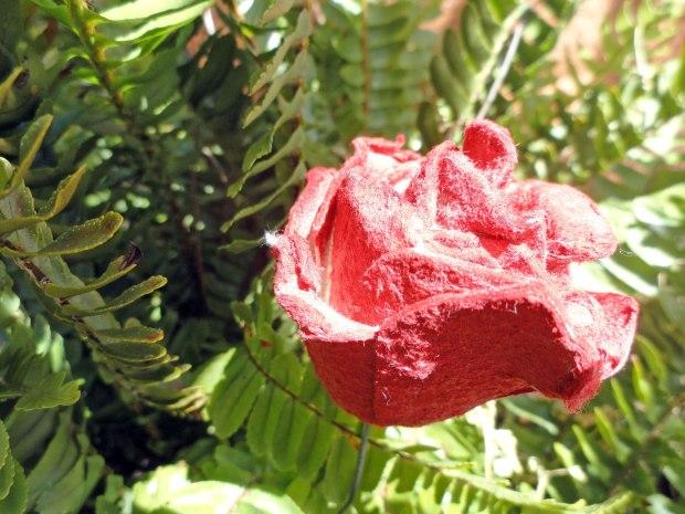 Sant Jordi Rosa Paper
